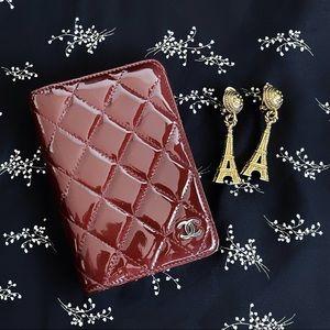 💋RARE Chanel Vintage Agenda - Patent Leather Auth